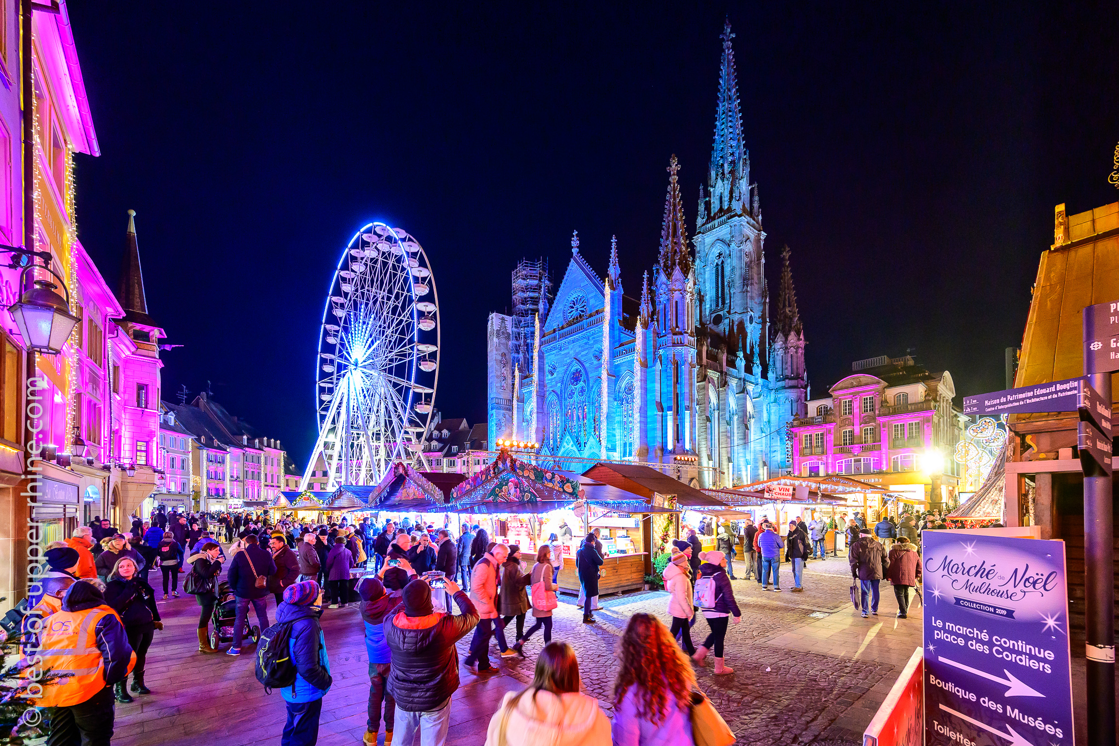Christmas Market on South Alsace