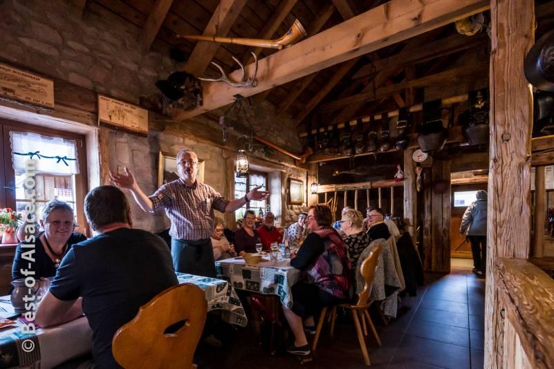 Moutain Farm Inn in Vosges Moutain