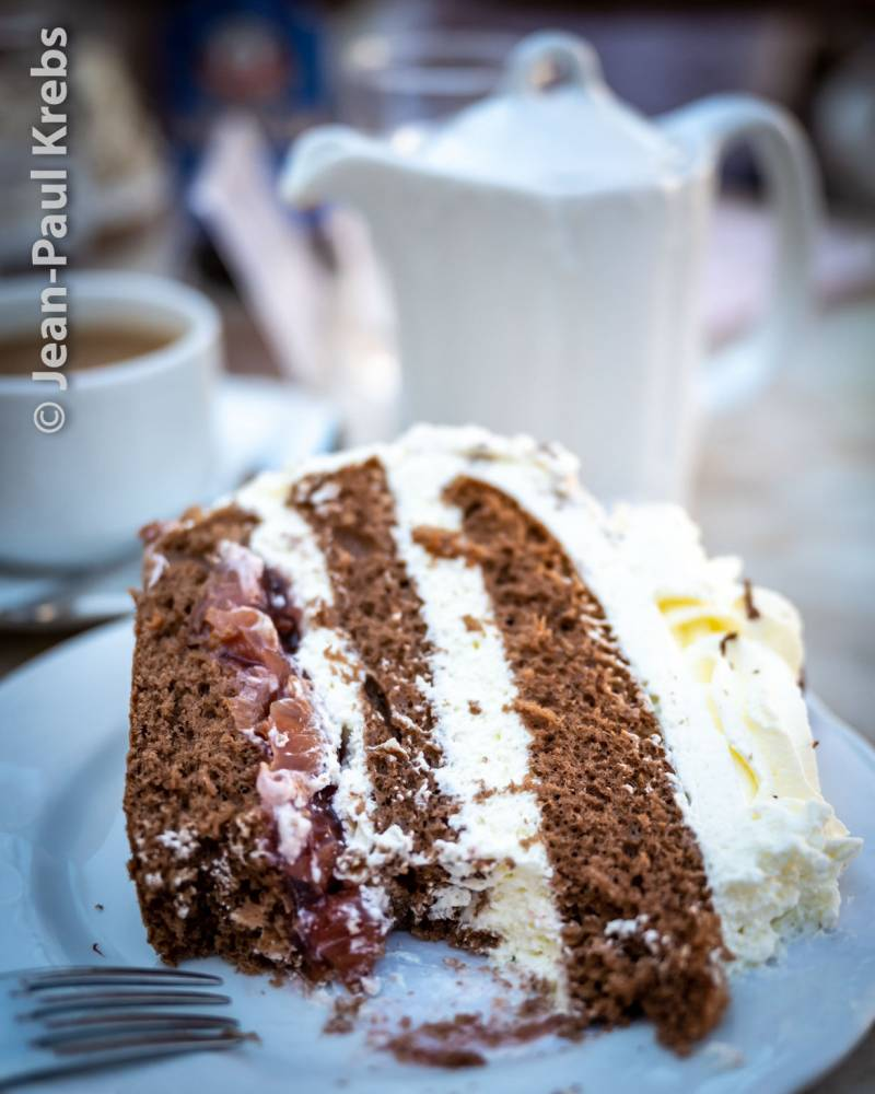 the famous black forest cake